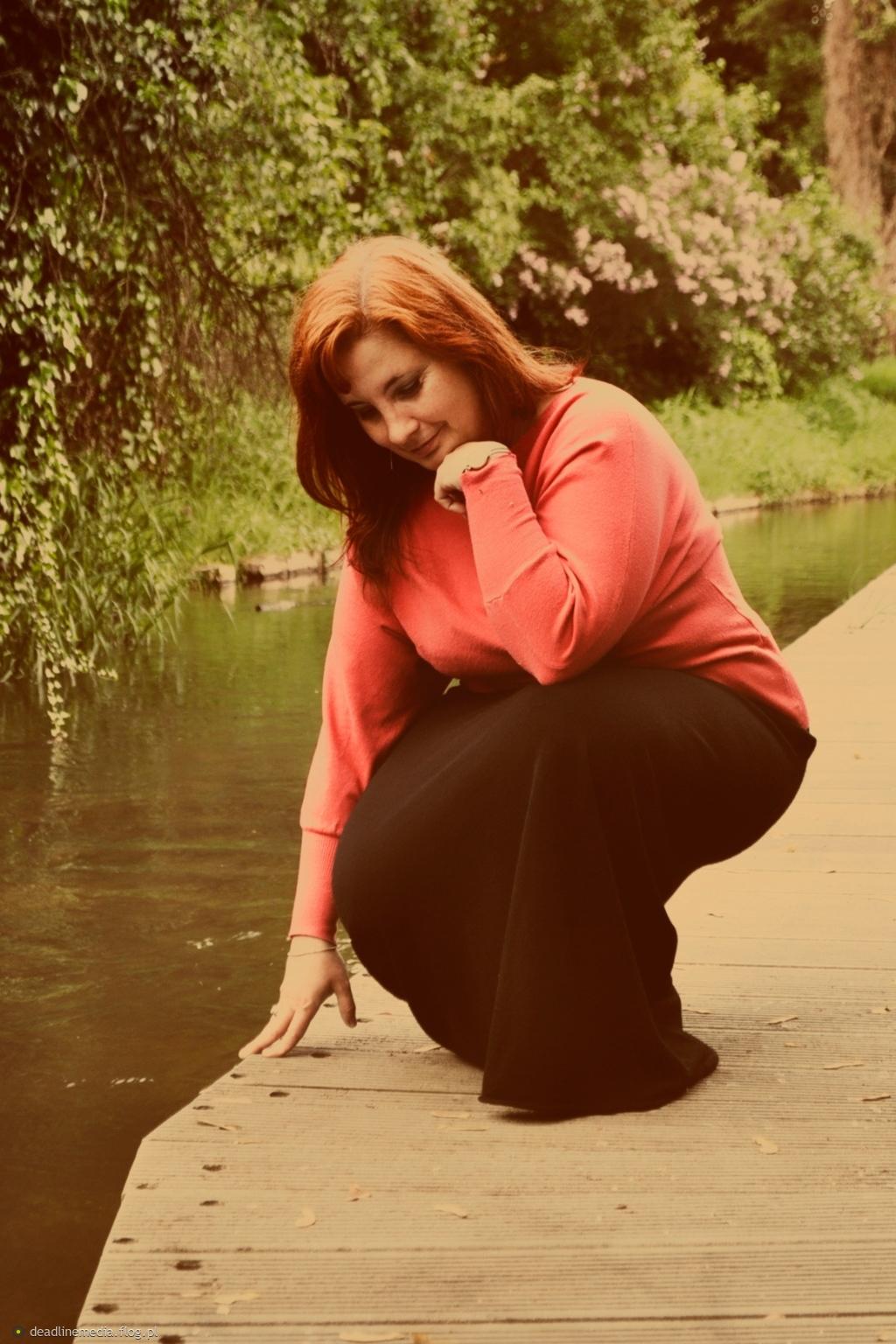 ..nad rzeką