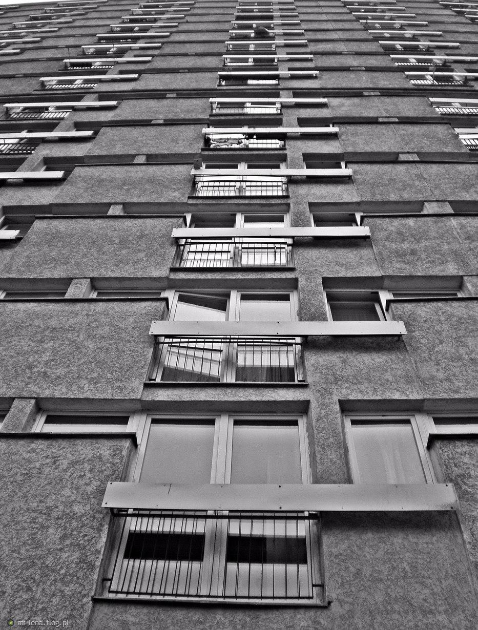 w domach z betonu...