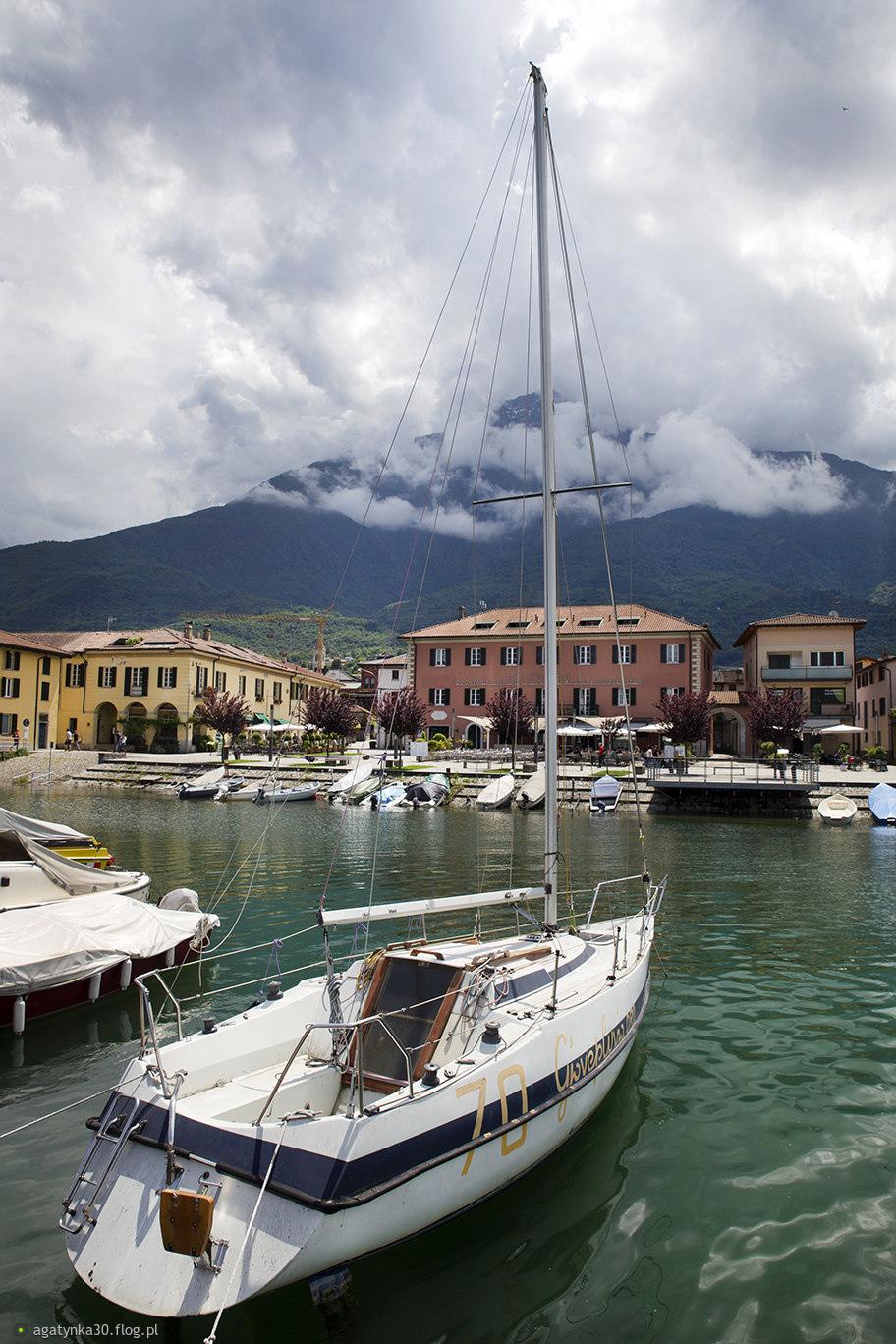 Nad włoskim jeziorem