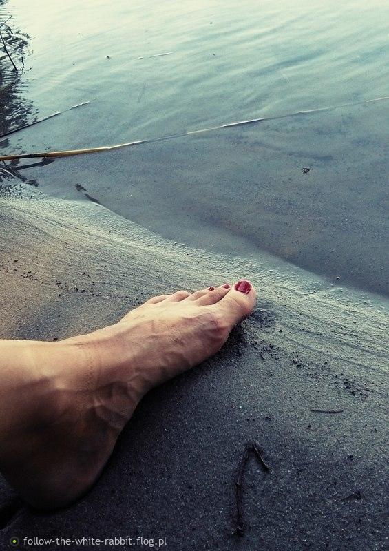 zmęczona stopa ;)