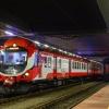 EN57-1434 :: 26.01.2016 20:25   Stacja<br /> Poznań Główny   EN57-143<br />4 oczekuje odjazdu do Gni<br />ezna w planie KW77950/